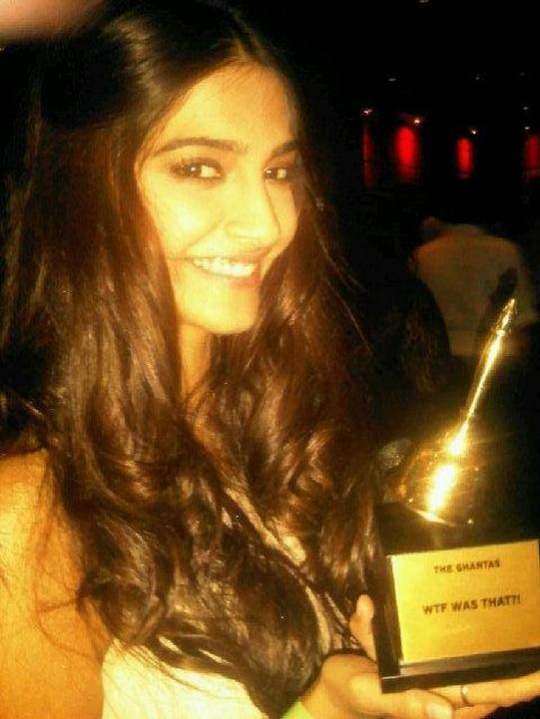 Sonam Kapoor wins a Ghanta Award