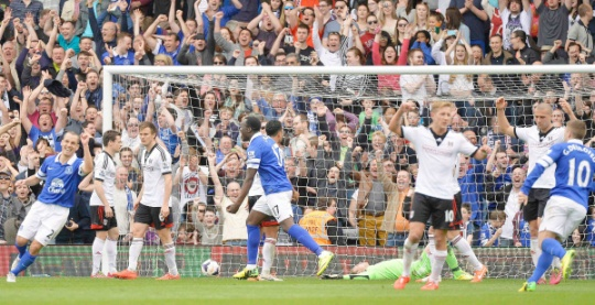 Everton Keep Pressure On Top Four