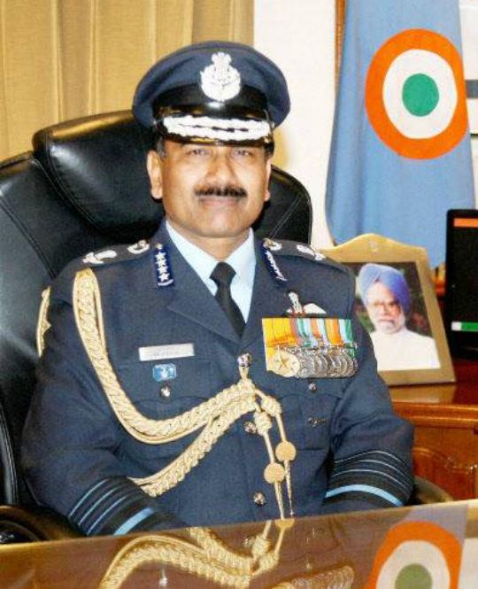 IAF chief Air Chief Marshal Arup Raha
