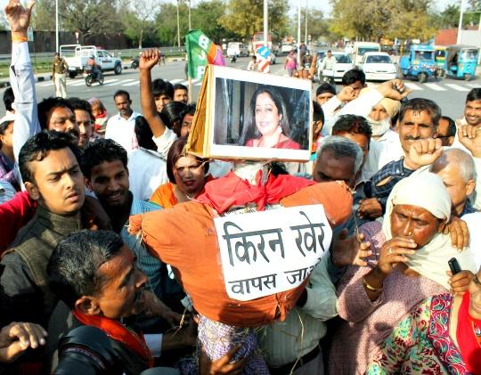 Protests Mar BJP's Ticket Distribution