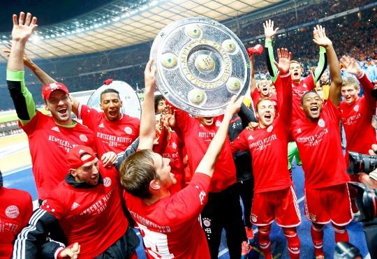 Bayern Win German Title in Record Time
