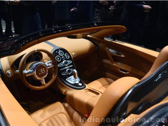 Inside the Bugatti legend edition