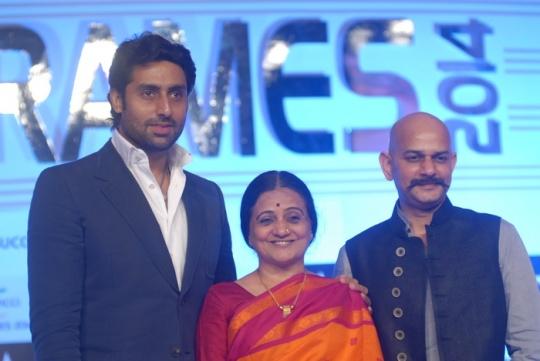 Abhishek Bachchan at Ficci Frames