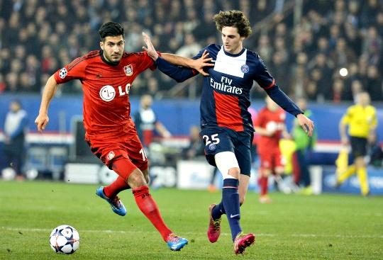 PSG See Off Leverkusen to Reach Last Eight