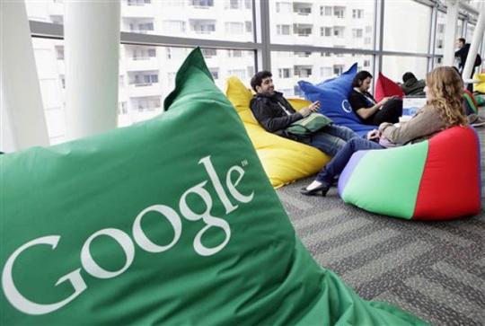 Google Mentoring Israeli Moms