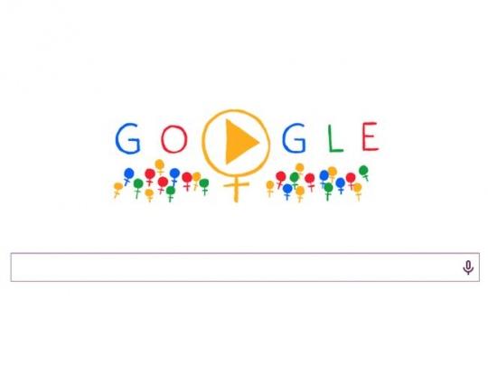 Google Doodle Women Day