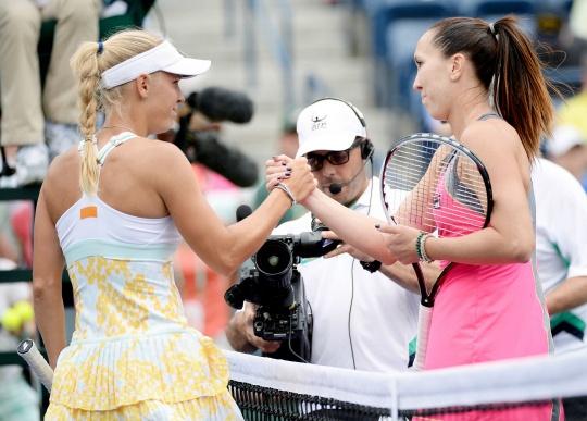 Jelena Jankovic, Caroline Wozniacki