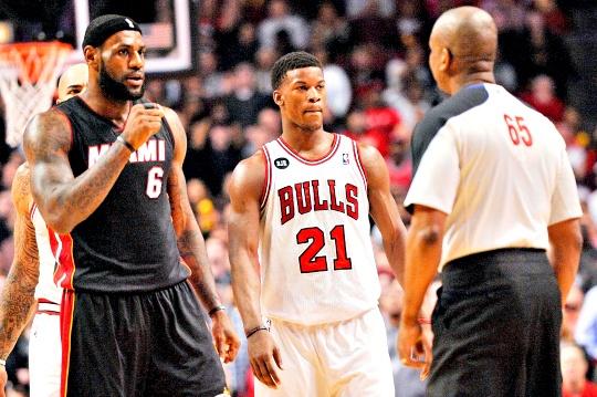 LeBron James, Jimmy Butler