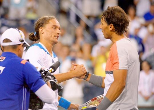 Alexandr Dolgopolov, Rafael Nadal