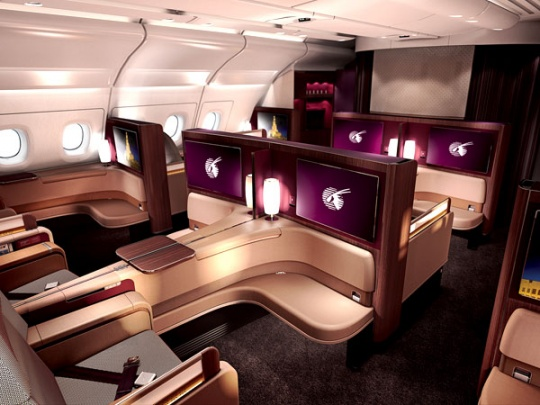 Qatar Airways New A380 First Class
