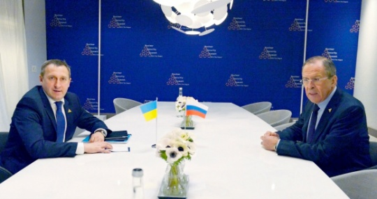 Sergey Lavrov, Andriy Deshchytsia