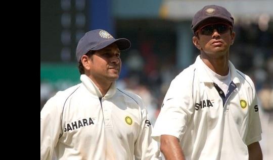 Rahul Dravid,Sachin Tendulkar