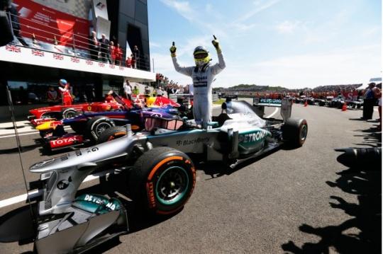Nico Rosberg Wins Australian Formula One Grand Prix