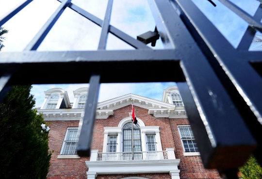 US Shuts Syrian Embassy, Consulates