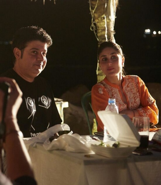 Sajid Khan and Kareena Kapoor Khan