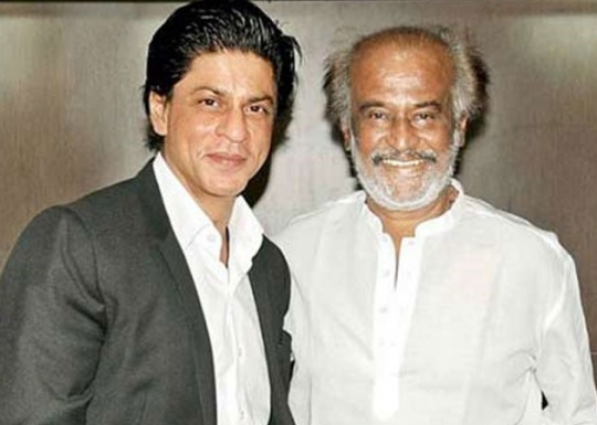 Shah Rukh Khan, Rajinikanth