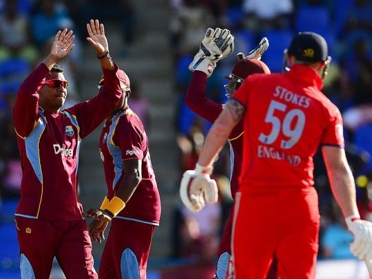 1st ODI: West Indies Beat England