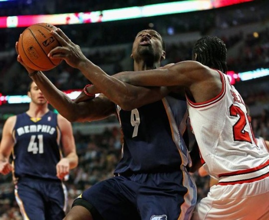 Gasol's Grizzlies Rally To Beat Bulls