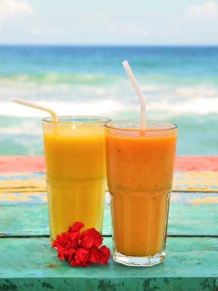 Healthy Breakfast: Papaya Mango Smoothie Recipe