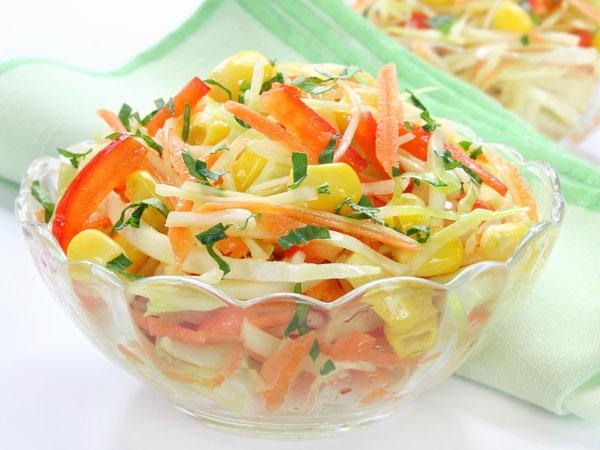 Health Snack Recipe: Corn Bhel