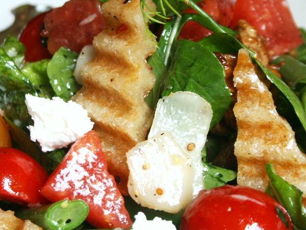 Healthy Salad Recipe: Watermelon And Feta Cheese Salad