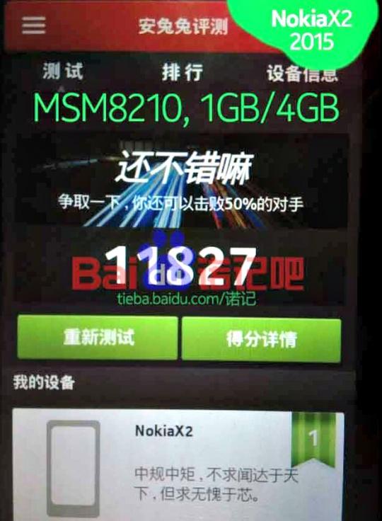 Nokia X2 2015