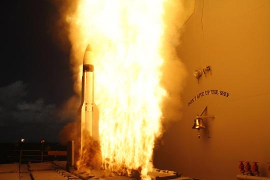 US Tests Enhanced Aegis System