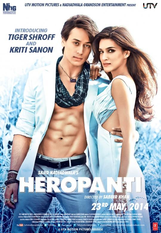 Tiger Shroff, Kriti Sanon in Heropanti