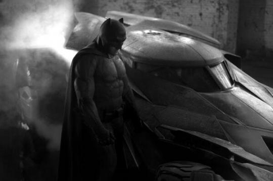 Ben Affleck as Batman in Batman vs Superman