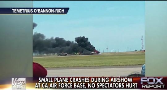Plane Crash At California Air Show Kills Pilot