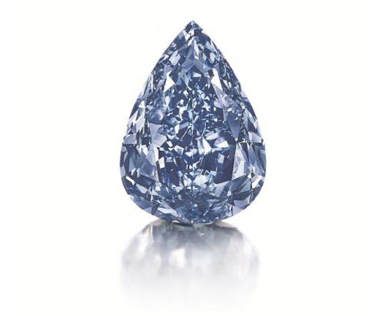 Largest Blue Diamond Fetches $23.7M
