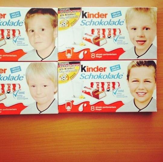 Footballers Who Were Child Kinder Stars