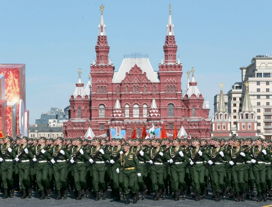 Moscow Kicks Off Annual Military Parade
