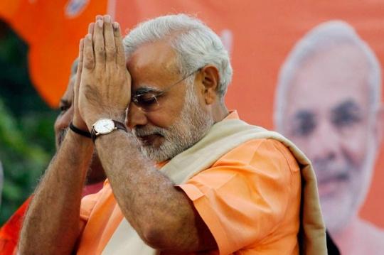 Narendra Modi Dares Election Commission