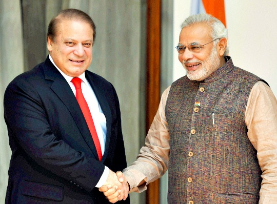 Nawaz Sharif, Narendra Modi