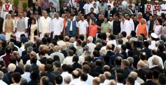 Narendra Modi's 30% Ministers Are Criminals