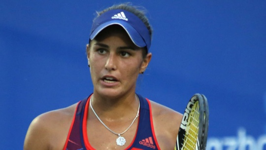 Pica Powers To First WTA Title