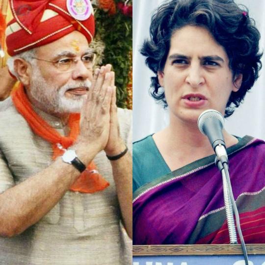 Narendra Modi, Priyanka Gandhi