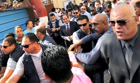 former army chief Abdel Fattah al-Sisi