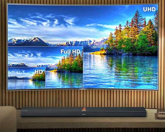 Samsung Ultra High Definition TV