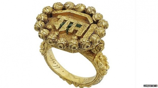 Tipu Sultan's Ring Auctioned in London