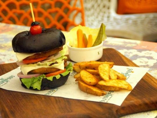 Dark Knight Burger