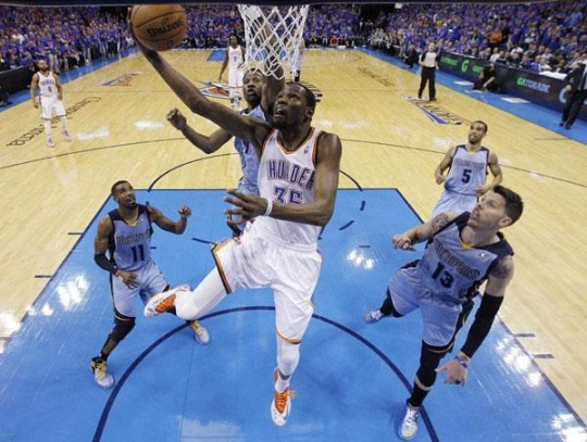 Thunder Roll Past Grizzlies