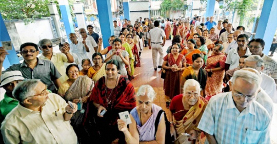 Over 10% Voting in First 2 Hours in UP