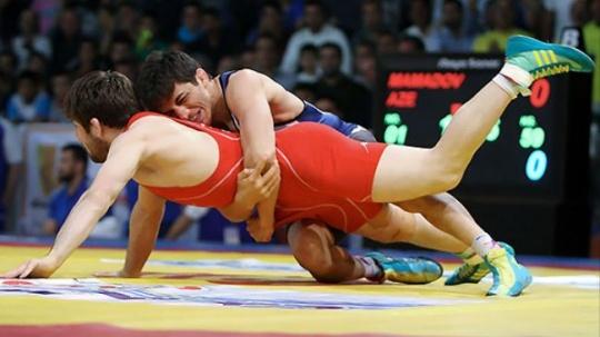 Iranian Greco-Roman wrestling team