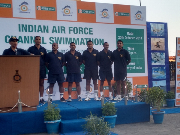 Indian Air Force Swim Team Breaks Several Records