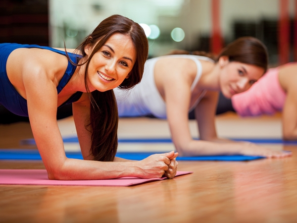 Trim Down Fat With Yoga