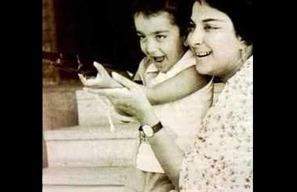 Sanjay Dutt baby pic