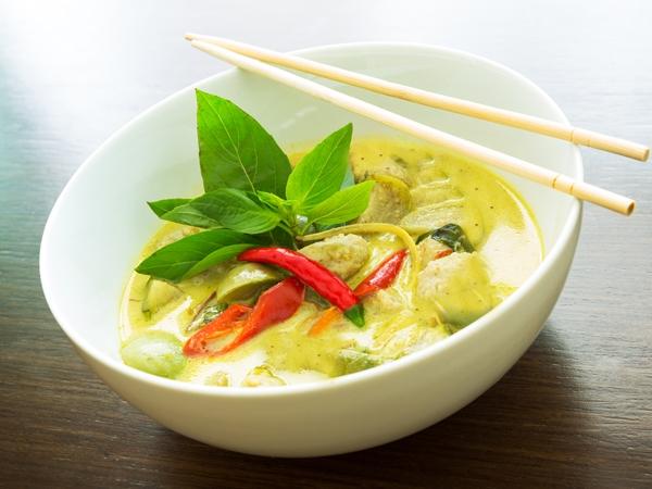 Healthy Recipe: Thai Green Curry
