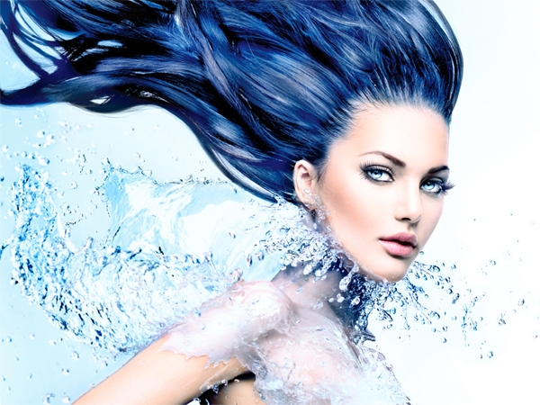 Colour Me Blue: Hydrate Your Skin!